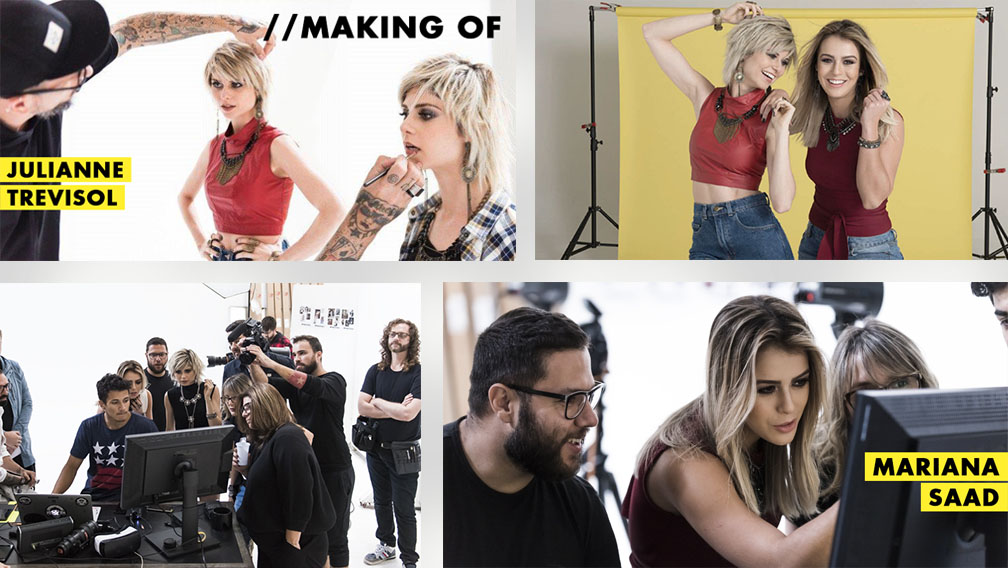 Making Of com Julianne Trevisol e Mariana Saad