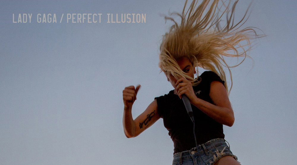 O novo single da Lady Gaga, Perfect Illusion